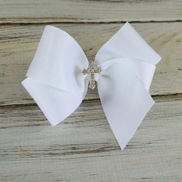 Baptism Bow, 1st Communion bow