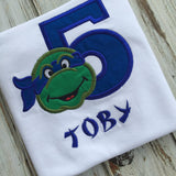 Ninja Turtle Birthday Shirt