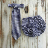 Tie and Diaper Cover Outfit