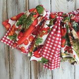Farmers Market Fabric tutu