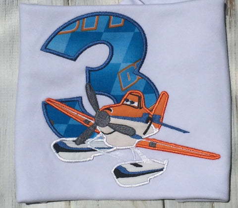 Planes 3rd birthday Shirt