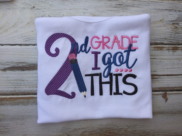 Grils back to school shirt