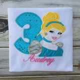 Princess Cinderella Birthday shirt