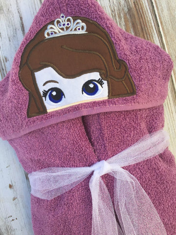 Sofia the 1st Hooded Towel