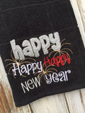 Happy Happy New Year Kitchen Towel