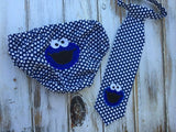 Smash cake outfit, Cookie Monster smash cake outfit