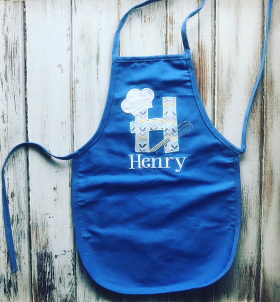 Kids personalized Apron