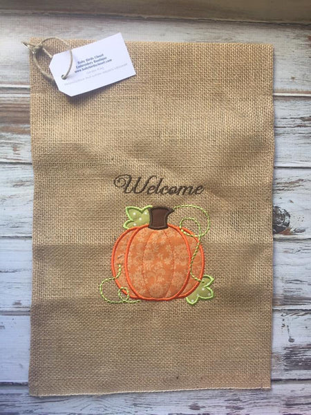 Fall Welcome Garden Flag