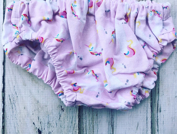 Unicorn diaper cover