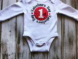 My 1st Valentines Bodysuit or shirt
