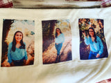 Plush Custom multi Picture Throw Blanket