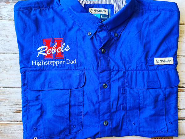 Hays HS High Stepper Dad Embroidered Logo