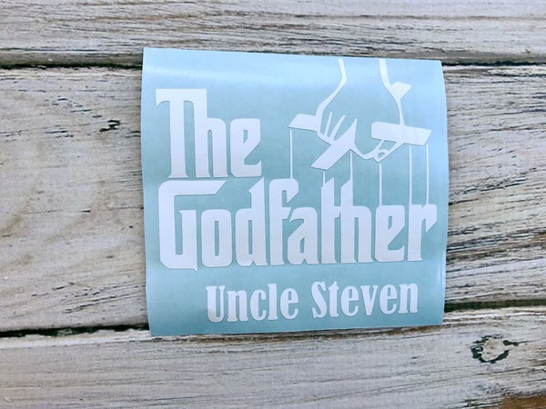The Godfather vinyl decal