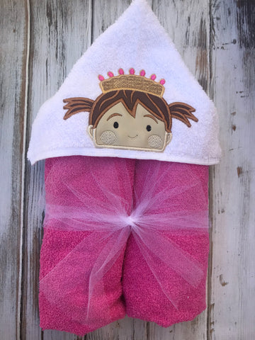 Pinkalicious Hooded Towel