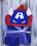 Captain America Hooded Towel