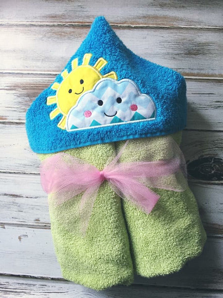 Sunshine Hooded Towel