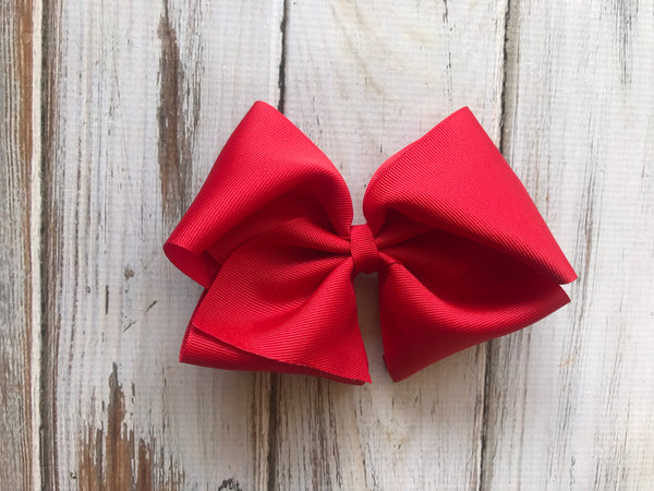 Large red Bow