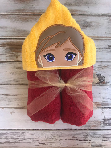 Harry Potter Ginny Hooded Towel