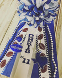 Custom 12 inch Homecoming Garter