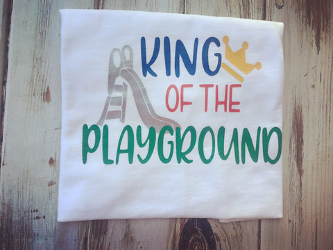 King of The Playground back to school shirt