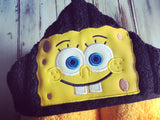 Sponge Bob Hooded Towel