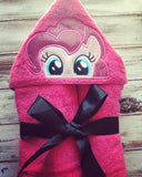 My Little Pony Pinkie Pie Hooded Towel