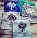 Family reunion shirts