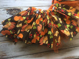 Thanksgiving fabric tutu