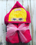 Barbie Hooded Towel