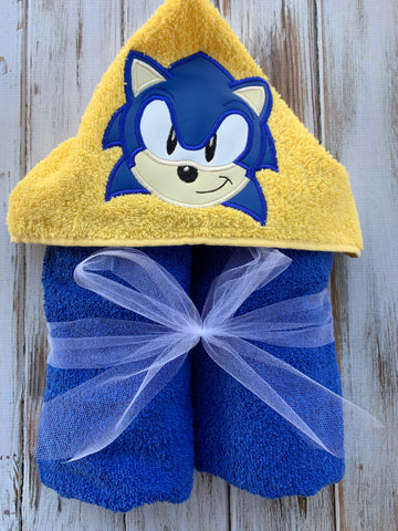 Sonic the Hedgehog Hooded towel