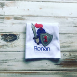 Royal Knight 1st birthday onesie or shirt