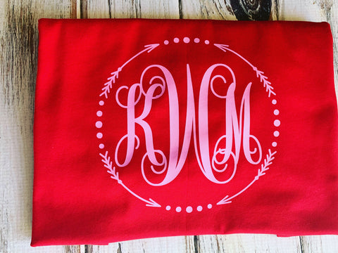 Arrow Monogrammed shirt