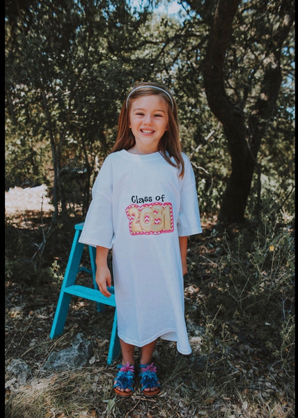 Class of 2031 Grow With Me Shirt