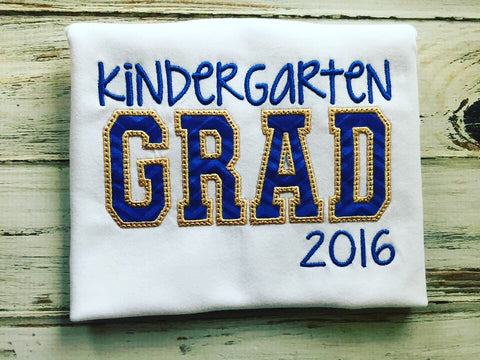 Kindergarten Graduation shirt or Preschool Graduation Shirt