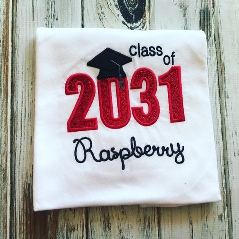Class of 2031 Shirt , Grow with me Shirt