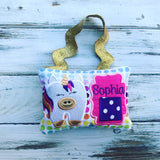 Hanging Unicorn Tooth Fairy Pillow