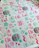 Monogrammed Car Seat Cover