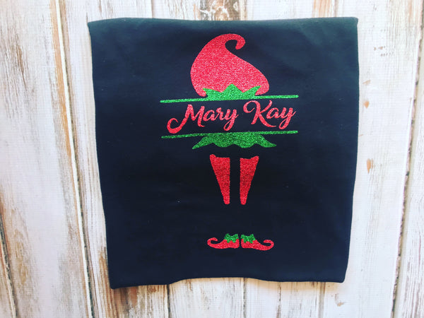 Mary Kay Elf Shirt, Elf Personalized Shirt