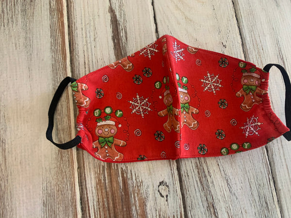 Christmas Fabrics Face Masks with pocket Insert option