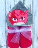 PJ Masks Owlet Hooded Towel