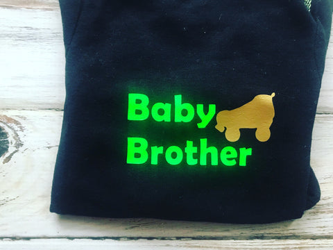 Baby Brother Roller skate shirt