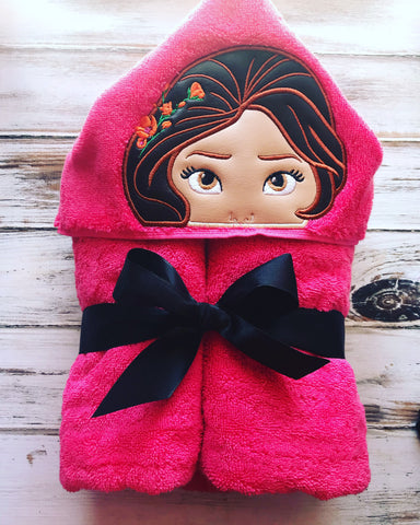 Princess Elena of Avalor Hooded Towel