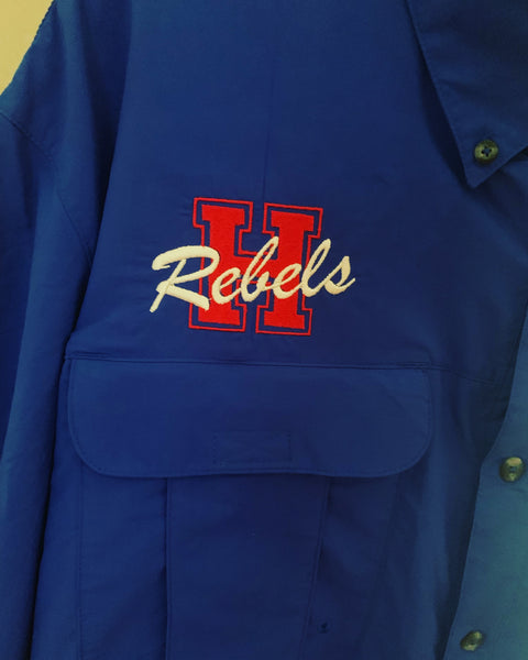 Hays HS Embroidered Logo