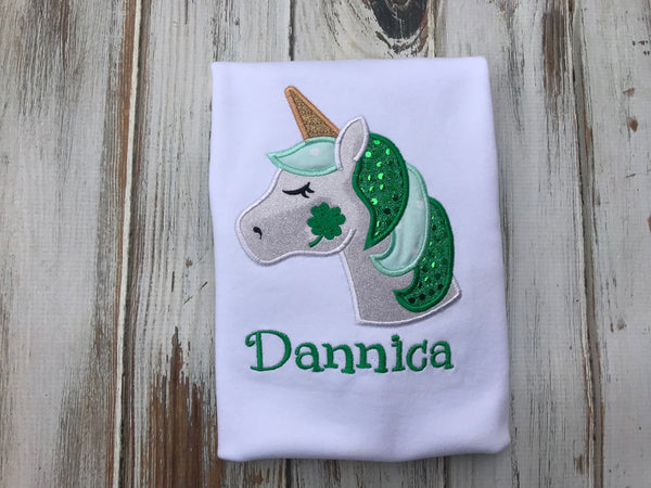 St. Patricks Day Unicorn Shirt