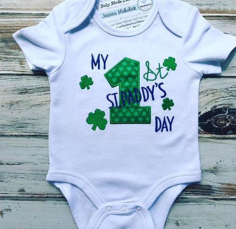 My 1st St. Patrick's Day Onesie or Shirt