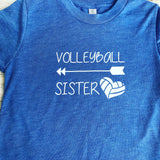 Volleyball Sister shirt