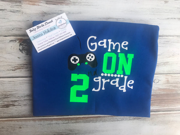 Games on 2nd grade, back to school shirt
