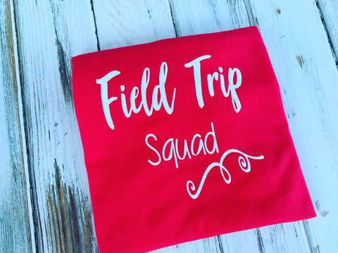 Field Trip Squad Shirt Childrens Size