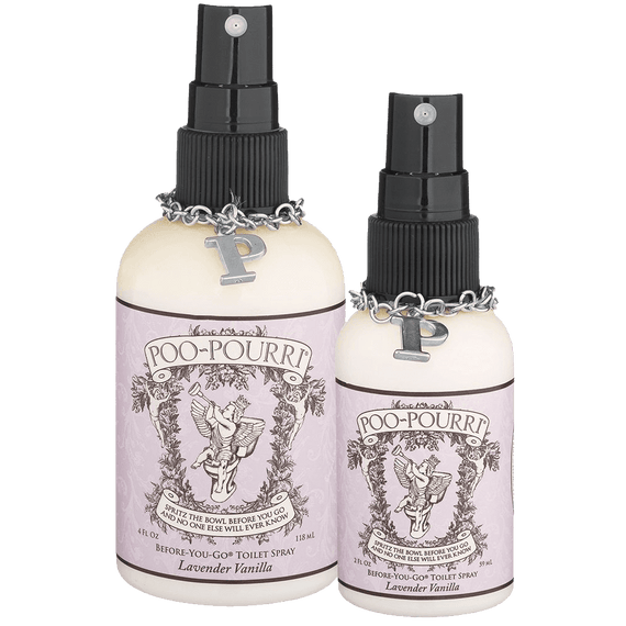 PooPourri Preventive Bathroom Odor Spray Piece Set Includes - Bathroom odor spray