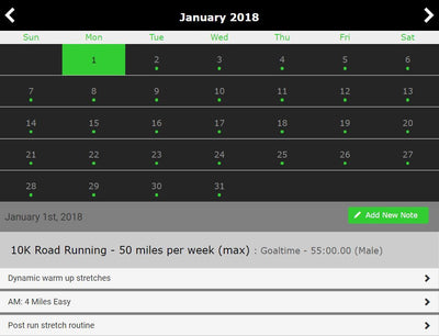 10K Training - Single Level - 16 Weeks - Trackwired